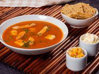 Sopa Azteca con Pollo