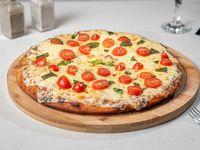 Pizzeta con mozzarella + gusto