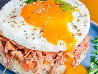 Arepa Proteica de Carne