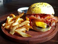 Promo - Single Cheddar & Bacon Burger