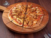 Pizza redonda 30cm pollo barbecue