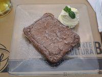 Brownie con Crema