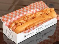 Hot dog Manhattan con salchicha de viena