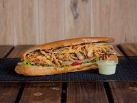 Sándwich de Pollo Chipotle
