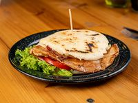 Arepa burger (sin TACC)