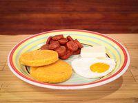 Desayuno típico Panameño