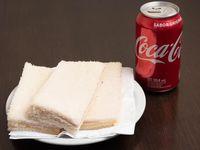 3 sándwiches de miga + bebida a elección