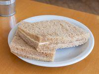 Sándwich de miga negro de jamón y queso (6 unidades)