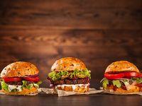 3 Hamburguesas de Carne