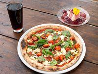 Promo Duo - Pizza + postre + 2 bebidas 350 ml
