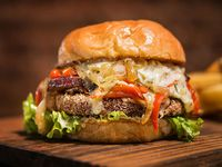 Green Morgan burger