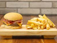 Mr Cuarto Bacon Burger