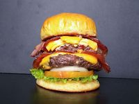 Doble bacon point burger
