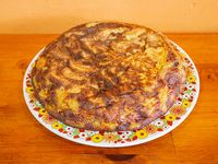 Tortilla de papas individual