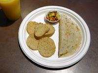Infantil burrito pequeño