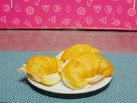 Medialunas de jamón y queso (3 unidades)