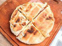 Tostado Árabe Casero con jamon y queso
