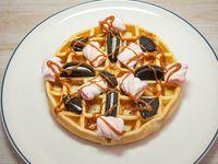 Waffle blue valentine