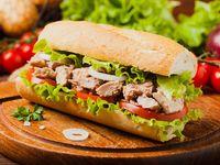 Combo Burgerwich de Atún