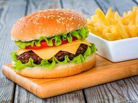 Burger Cheese En Combo