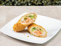 Salmon Crispyrrito