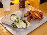 Promo - Wrap veggie + papas fritas