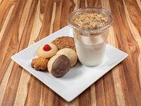 Yugurt natural + 5 galletas