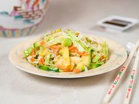 Chop suey vegetariano (sin sal)