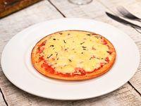 Pizza caprese (sin gluten)