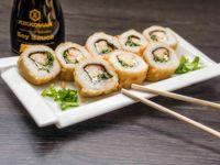 137 - Teri tempura rolls (8 bocados)