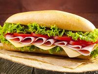 Sándwich Junior de Jamón