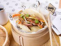Bao vegan (vegetales)