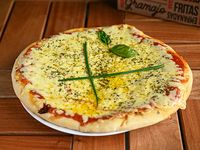 Pizzeta con muzzarelaa