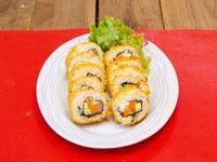Hot veggie roll (10 piezas)
