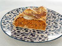 Tarta gallega (porción)