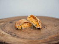 Empanada vegetariana de calabaza y queso