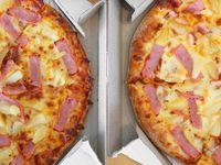 2 Pizzas Personales (27 cm) + Gaseosa 1 Lt