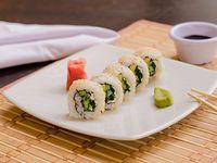 Mr. Sushi Vegan Roll Medio Rollo 5 Unidades