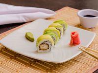 Mr. Sushi Ebi Tempura Roll Medio Rollo 5 Unidades