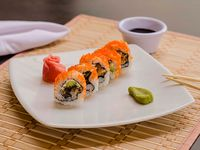 Mr. Sushi Salmon Skin Roll Rollo 10 Unidades