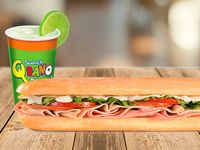 Sandwich Súper Especial (21cm) + 1 Limonada 16 Oz