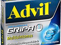 Advil Gripa Capsulas Glt Blandas 1-1-200 Mg Oral Caja 10 Und