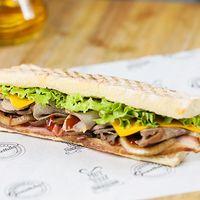 California bbq sándwich