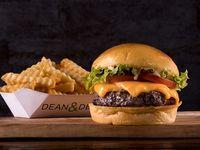 Combo Dennys –Hamburguesa simple a elección + classic fries