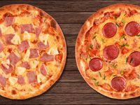2x1 Pizza de Hawaiana + Pizza de Salami
