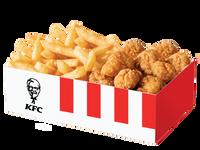 Snack box pop corn