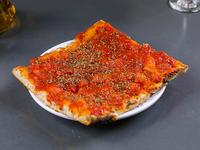 Porción pizza común