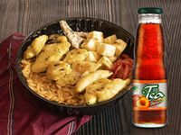 Promo Bowl Orzo Pollo + Mr Tea 330 ml