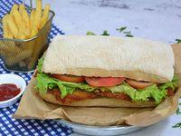 Combo - Club chicken sándwich + acompañamiento
