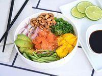 Poke bowl de salmón spicy  350 g